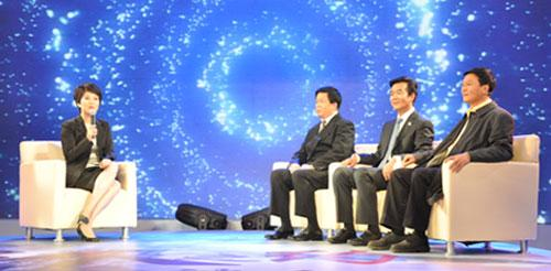 Interview with Celebrities Held in Zhangjiajie