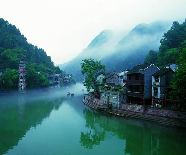 2 Days tour to Fenghuang ancient city and Furong town(Hibiscus town)