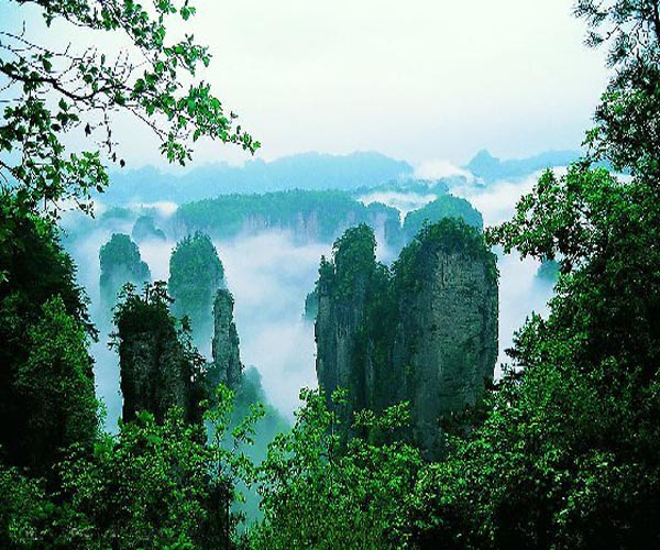 A Standard Route to experience the top wonders earth in Zhangjiajie