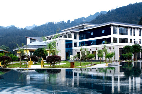 Wulingyuan Samantha resort & spa has opened