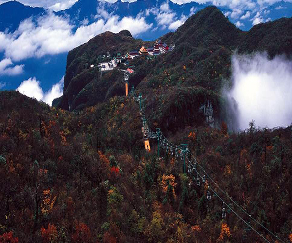 Tianmenshan Forest sightseeing cable car