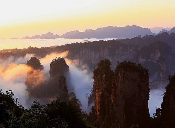 5N6D Join-in tour to Zhangjiajie and Fenghuang town