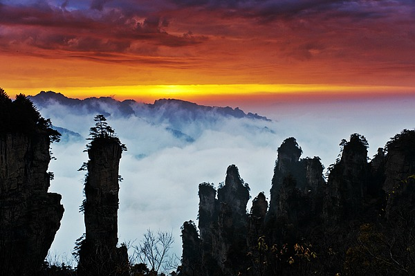 14 Days Delux Tour for Australia-Zhangjiajie-Yangtze river-Jiuzhaigou