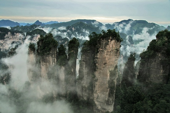 Zhangjiajie Package Join-in tour for Scenic Mountaintop