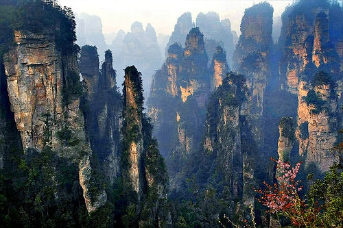 Zhangjiajie, A Wonderful Place to be Admired