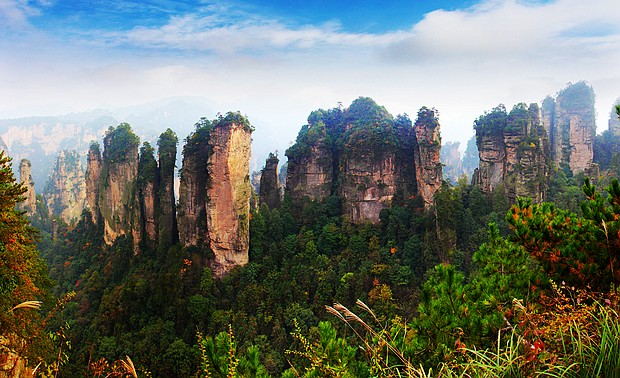 4D3N Private Tour To ZJJ National Forest Park-Tienmen mountain