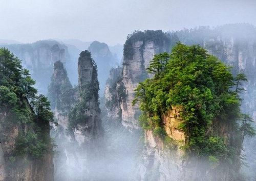 6D5N Deluxe Tour for Changsha-Zhangjiajie-Fenghuang-Changsha
