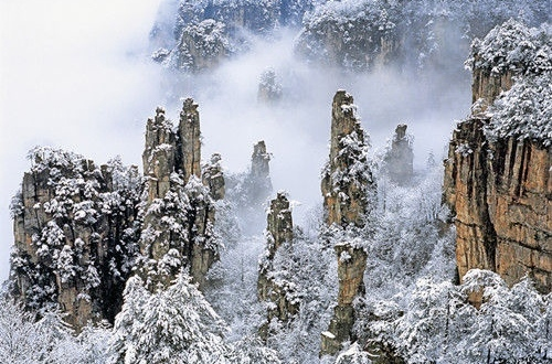 Zhangjiajie Entrance fee for winter discount price list