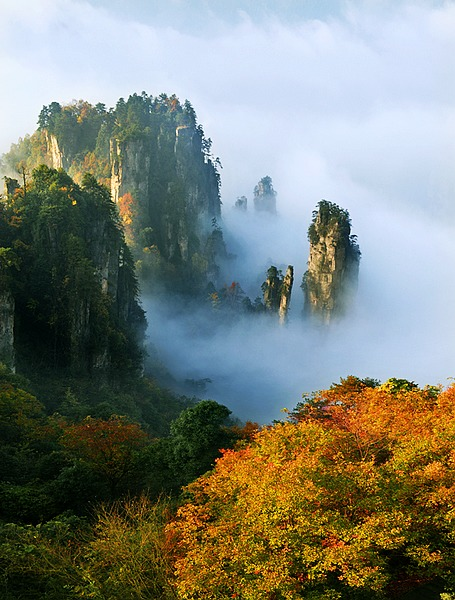 4N5D Friends tour in Zhangjiajie and Fenghuang ancient town