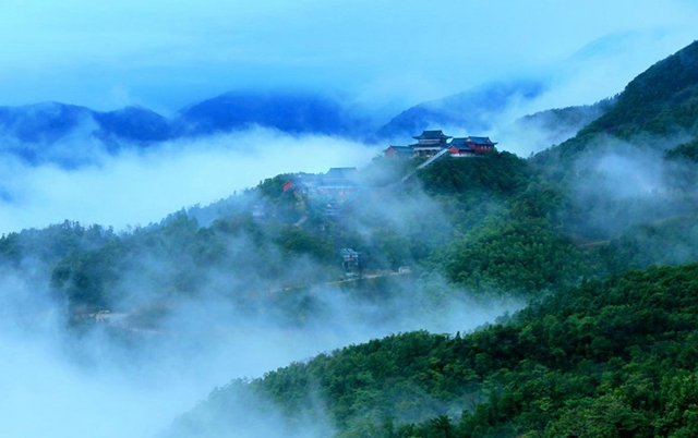 Loudi Daxiong Mountain National Forest Park