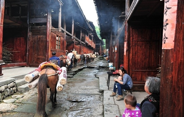 Yiyang Anhua Ancient Tea-horse Road Scenic Spot
