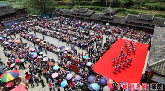 Miao Girls' Day to Be Celebrated in Suining