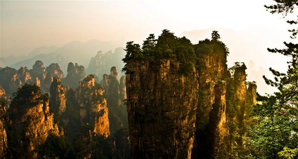 Zhangjiajie tourism for  TOP 5  hiking places