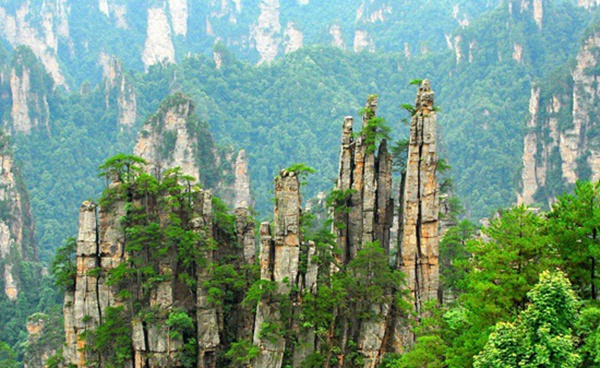 Zhangjiajie Tianzi Mountain Nature Reserve