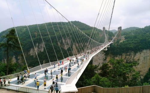 Online Booking ticket for Zhangjiajie grand canyon glass bridge & Tianmenshan