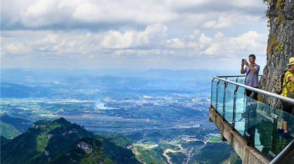 Where is Zhangjiajie Glass Bridge?