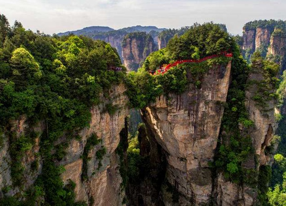 Exploration of strange mountains tour in Tianzishan