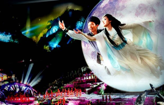 Real-Scene Musical Show-Tianmen Fox Fairy