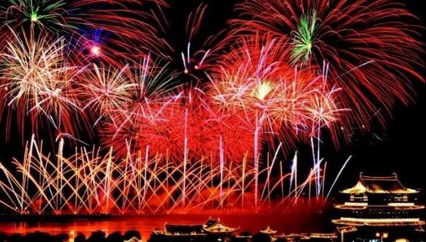 Schedule for Changsha Orange Isle fireworks shows 2019