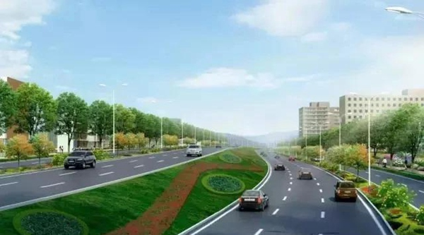 Zhangjiajie Wulingshan Avenue was completed and opened