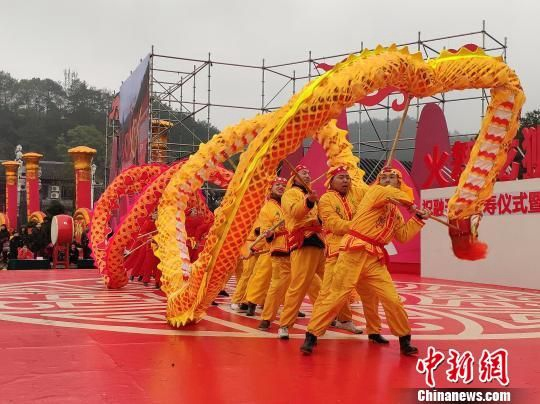 Dragon and Lion Dance Competition Held in Hunan