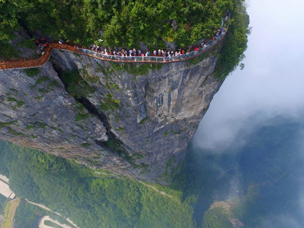 Zhangjiajie is included as true wonder of the world